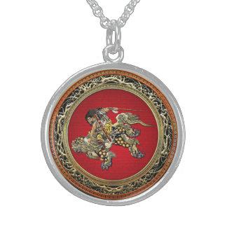 [200] Hokusai - Shoki Riding Shishi Lion Jewelry