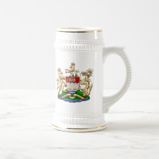 [200] Hong Kong Historical 1959-1997 Coat of Arms Beer Stein