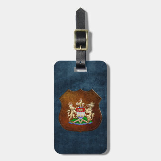 [200] Hong Kong Historical 1959-1997 Coat of Arms Tag For Luggage