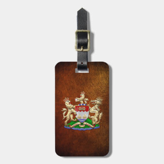 [200] Hong Kong Historical 1959-1997 Coat of Arms Tags For Bags