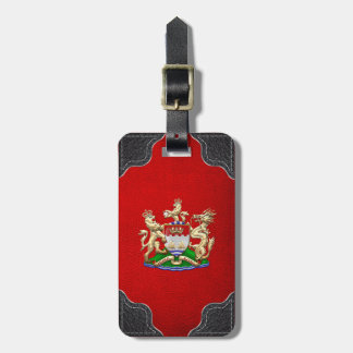 [200] Hong Kong Historical 1959-1997 Coat of Arms Tag For Bags