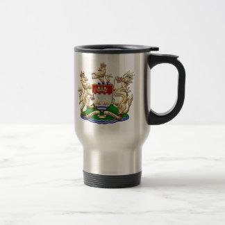 [200] Hong Kong Historical 1959-1997 Coat of Arms Travel Mug