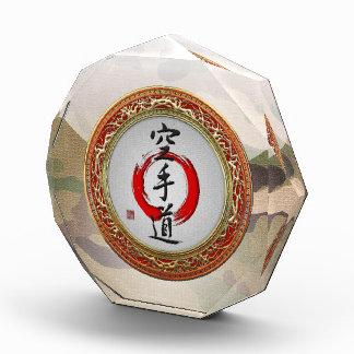 [200] Japanese calligraphy - Karate-do Acrylic Award