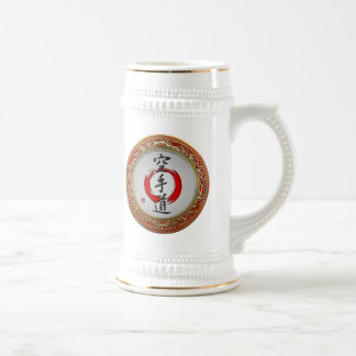 [200] Japanese calligraphy - Karate-do Beer Stein