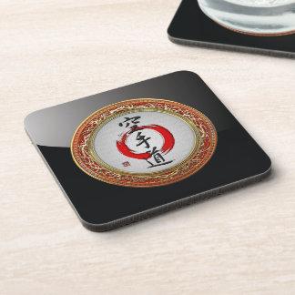 [200] Japanese calligraphy - Karate-do Coasters