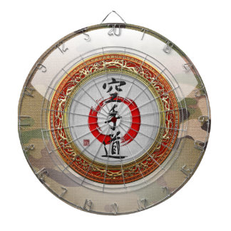 [200] Japanese calligraphy - Karate-do Dartboard