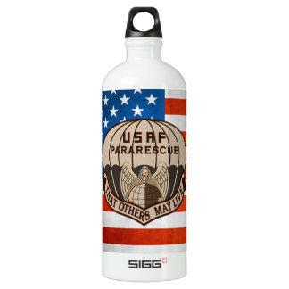 [200] Pararescuemen (PJ) Patch [Desert Tan] Water Bottle