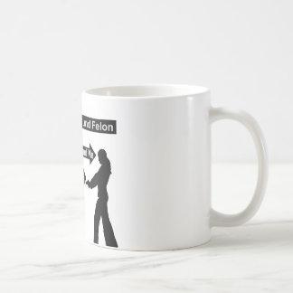 200 Pound Felon, 100 Pound Me, My Gun The Equalize Coffee Mug