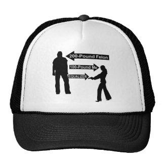 200 Pound Felon, 100 Pound Me, My Gun The Equalize Trucker Hat