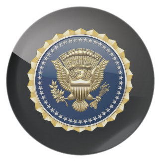 [200] Presidential Service Badge [PSB] Party Plates