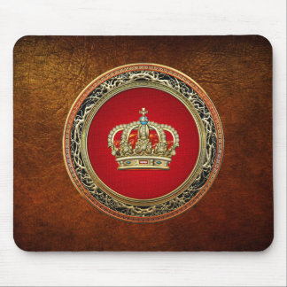 [200] Prince-Princess King-Queen Crown [Belg.Gold] Mouse Pad