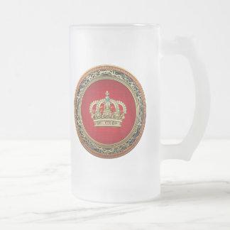 [200] Prince-Princess King-Queen Crown [Belg.Gold] Coffee Mugs
