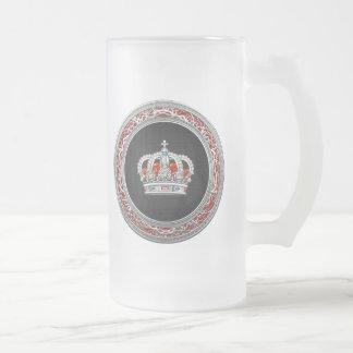 [200] Prince-Princess King-Queen Crown [Silver] Mug