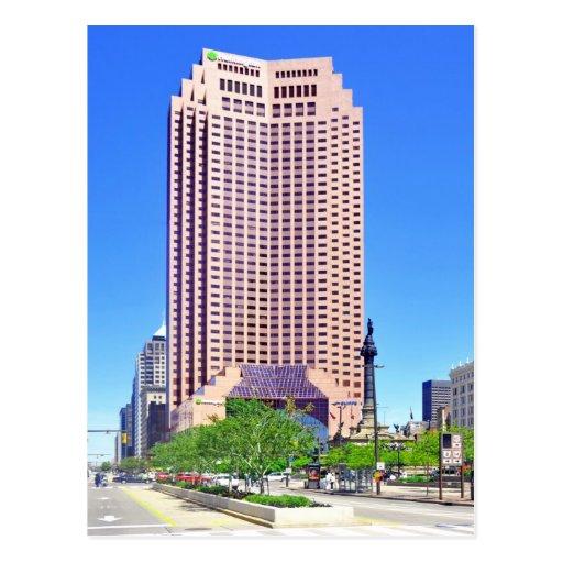 200 Public Square Cleveland Ohio USA Postcard Zazzle