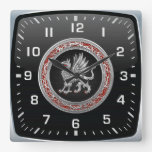 [200] Sacred Silver Griffin Clock