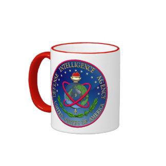 [200] Sello (DIA) de la Agencia de Inteligencia pa Taza De Café
