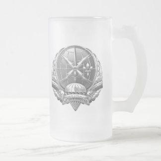 [200] SOWT Badge [Crest] Frosted Glass Beer Mug