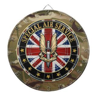 [200] Special Air Service (SAS) Badge [3D] Dartboard With Darts