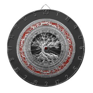 [200] Treasure Trove: Celtic Tree of Life [Silver] Dartboards