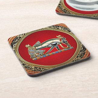 [200] Treasure Trove: The Eye of Horus Beverage Coaster
