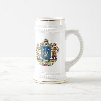 [200] Ukraine: Proposed Greater Coat of Arms Beer Stein