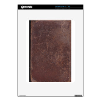 200 Year Old Leather Book Cover Decal For The iPad