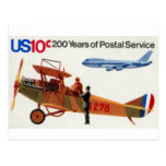 200 Years of Postal Service 02 Post Card