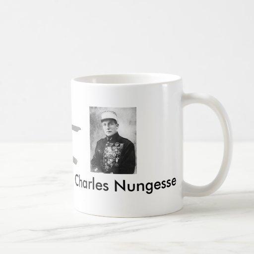 200px-Charles_Nungesser, Nungessar, Charles Nun... Basic White Mug