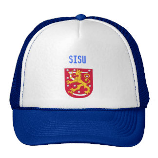 200px-Coat_of_arms_of_Finland.svg, sisu Trucker Hat