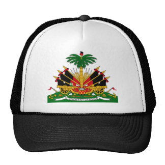 200px-Old_coat_of_arms_of_Haiti Trucker Hat