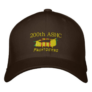 200th ASHC Vietnam CH-47 Embroidered Hat