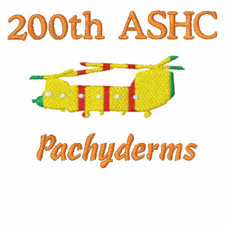 200th ASHC Vietnam CH-47 Embroidered Shirt