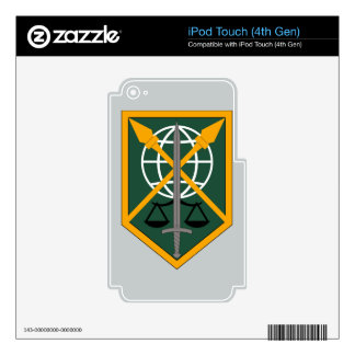 200th Military Police Command Decals For iPod Touch 4G