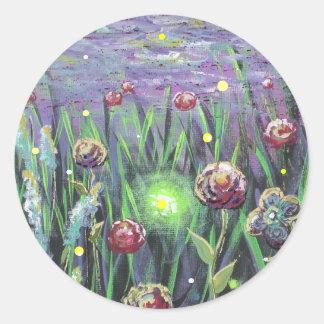 20100903-104618, Firefly Garden Classic Round Sticker