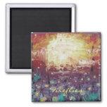 20100905-083400, Fireflies Fridge Magnet