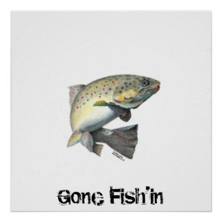 20100925175140, Gone Fish'in Poster