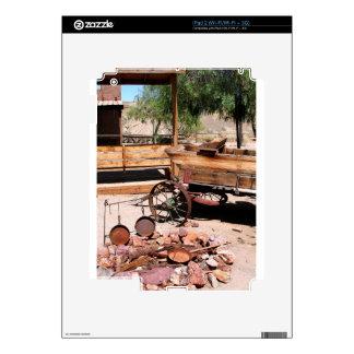 2010-06-26 C Las Vegas (189)abandoned_campsite2.JP iPad 2 Decal