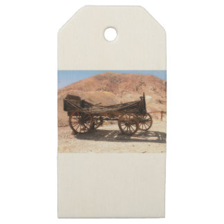 2010-06-28 C Calico Ghost Town (53)old_wagon Wooden Gift Tags