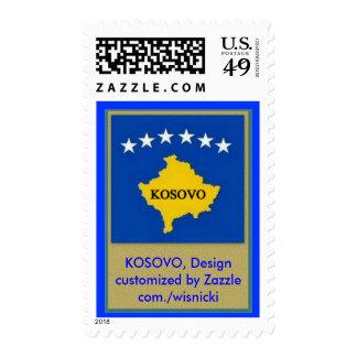 2010-09-29, KOSOVO, Design customized by Zazzle... Postage Stamps