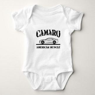 2010-11 Camaro American Muscle Car blk Baby Bodysuit