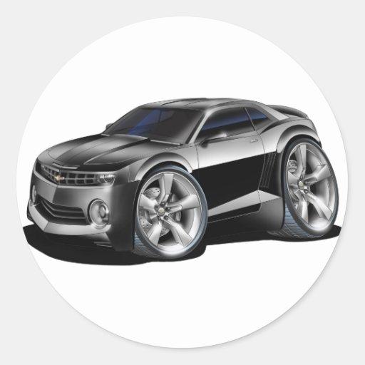 2010-11 Camaro Black Car Sticker