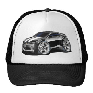 2010-11 Camaro Black-White Car Trucker Hat