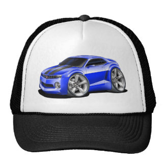 2010-11 Camaro Blue-Black Car Trucker Hat