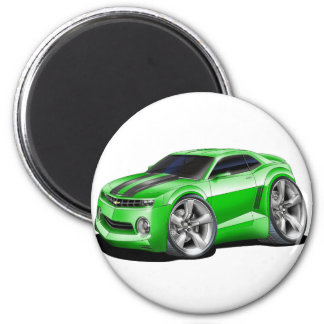 2010-11 Camaro Green-Black Car Magnet