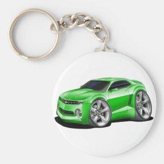 2010-11 Camaro Green Car Keychain