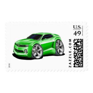 2010-11 Camaro Green Car Postage
