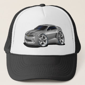 2010-11 Camaro Grey-Black Car Trucker Hat