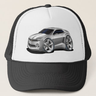 2010-11 Camaro Grey-White Car Trucker Hat