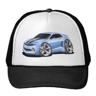 2010-11 Camaro Lt Blue-Black Car Trucker Hat