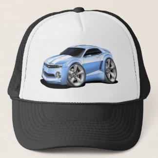 2010-11 Camaro Lt Blue-White Car Trucker Hat